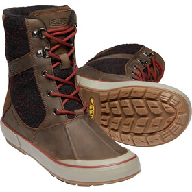 Keen Elsa II Wool WP Shoes Damen cascade brown/fried brick
